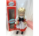 Childhood Memories Heidi Porcelain Doll