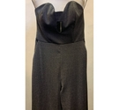 Topshop Jumpsuit in Silver Size: 4