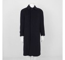Acquaviva Cashmere and Wool Blend Coat Dark Navy Size: L
