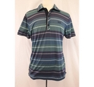 Hugo Boss Modern Fit polo top blue green Size: L