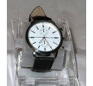 New Cotton Traders round wristwatch In White, Size: Large