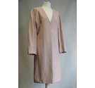 Pink sateen coat