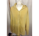 Next Long Sleeved Hoodie Mustard Yellow Size: 20