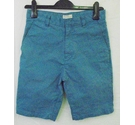 Jack Wills cotton shorts blue Size: W 28