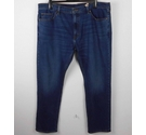 M&S Collection Tapered Fit Denim Jeans Blue NWOT Size: 42""