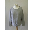 Tommy Hilfiger silky floral panel sweatshirt sweater Grey rainbow Size: L