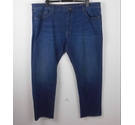 M&S Collection Tapered Fit Lightweight Jeans Blue NWOT Size: 44""