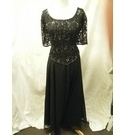 Debut Dress Black Size: L