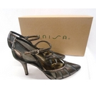 Unisa Fiesta Stiletto Heeled shoes Silver Size: 4