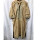 Ethnic Outfitters Tradional Garment, Gold Size: M