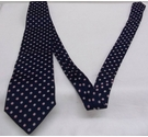 Alain Figaret Men's patterned French tie Blue, pink Size: Not specified