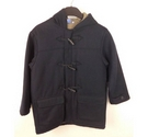 Junior Jasper Conran Duffle Coat Navy Size: 7 - 8 Years