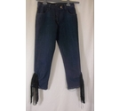 Armani Jeans Women's Cropped Blue Size: 38""