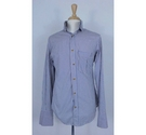 Vivienne Westwood Long Sleeve Shirt Blue/Yellow Size: L