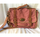Fossil Long Live Vintage Satchel - Pink- Size: One size