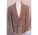 Hugo Boss calf leather jacket 40R EUR 50 pale brown Size: M