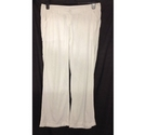 Next Maternity straight leg trousers white Size: M