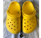 BNWT- Crocs Kids Roomy Fit Shoes- Yellow Size: Other
