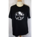 Markus Lupfer embroidered t-shirt black Size: M