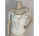 The House Of Nichola Off Shoulder Strap Bridal Bodice Size 26