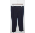BNWT Banana Republic Cropped Leg Trousers Size 12 Navy Blue Size: M
