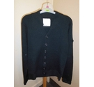 Crafted Cardigan Black Size: S