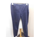 H&M trousers navy and white Size: 30""
