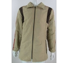 St Michael zippered jacket beige & red Size: M