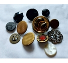 Lot of Victorian ornate mixed buttons