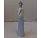 LLadro figurine- Lady with a flower.