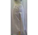 Madeleine Cropped trousers Cream Size: L