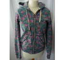 SuperDry Hooded Jacket Multi Coloured Size: M