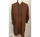 Junaid Jamshed kurta brown Size: 10 years