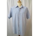 Maine Short Sleeve Shirt Blue Check Size: L