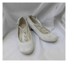 Monsoon Bridesmaid shoes Cream Size: 12