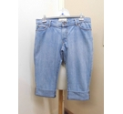 Cherokee Rolled up jeans Light blue Size: 38""