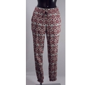 Divided Print Trousers Multi Size: S