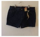 M&S Collection Mini denim shorts Blue Size: 36""