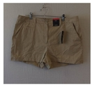 M&S Collection Natural cotton shorts Beige Size: 36""