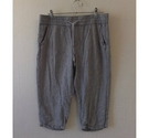 George 3/4 elasticated casual pants Grey Size: 32""