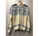 Dale of Norway Woolen Jumper- Cream/Blue Size: M