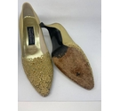 Russell and Bromley Pointed toe pump Gold Size: 8.5
