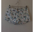 H&M Floral hot pants White/ Multi Size: 26""