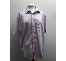 M&S Collection Collared Pink Chequered Shirt White Size: M