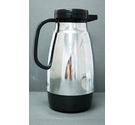 Thermique Steel Clad Glass Lined One Litre Pouring Vacuum Jug