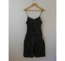 New Look B&W Floral summer jumpsuits Black Size: 8