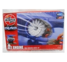 Airfix Engineer Working Jet Engine Model Kit