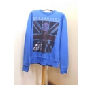 CrossHatch Jumper Blue Size: L