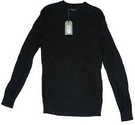 All Saints Montall Crew Neck Knit Jumper Black Size: S