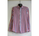 Ferraud checked shirt blue/red/white Size: M